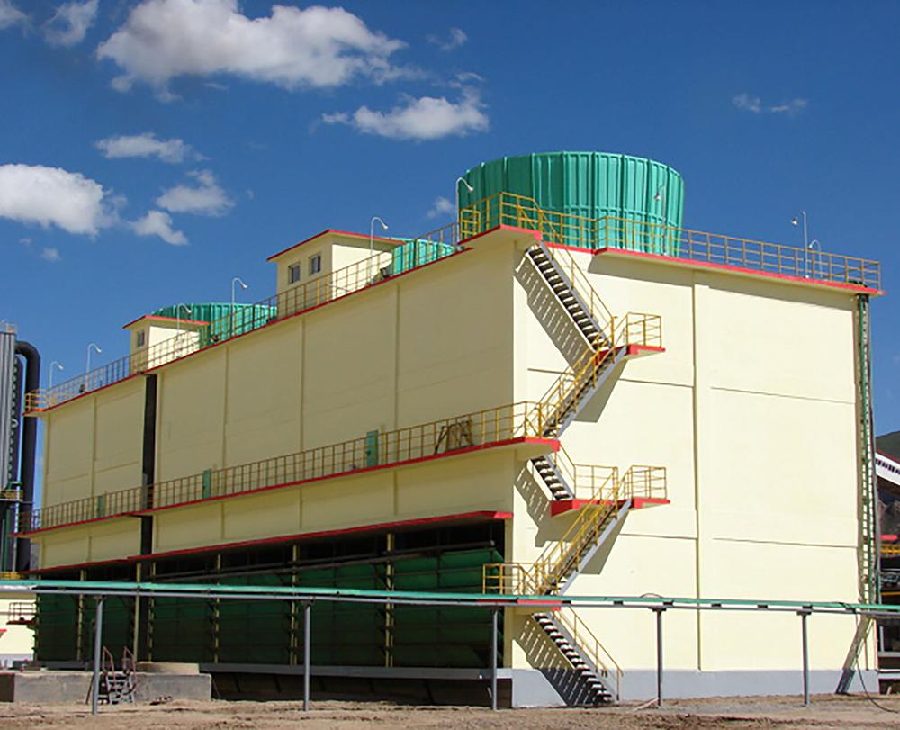 工业大型逆流冷却塔